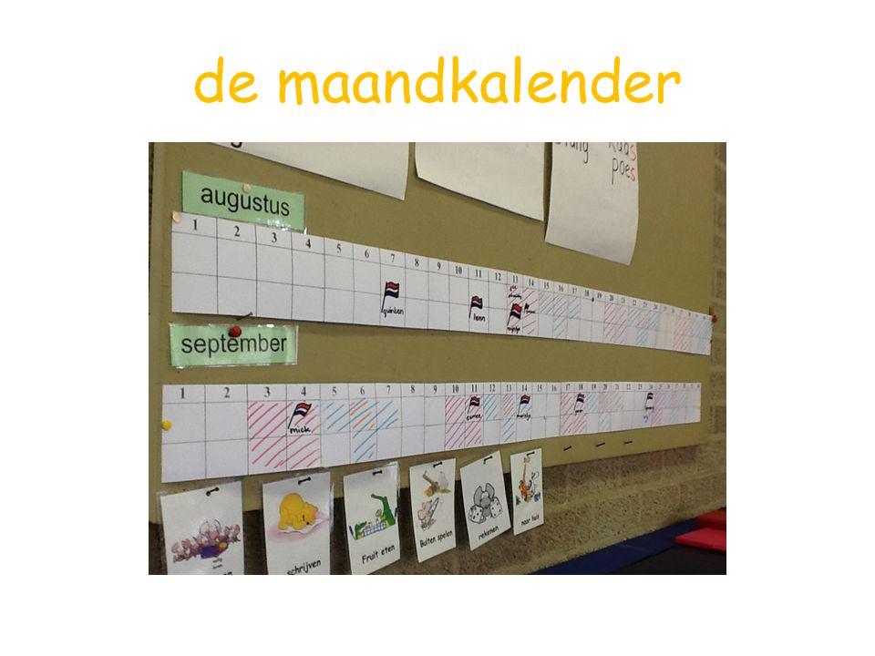 taal-leesles werken in het werkschrift