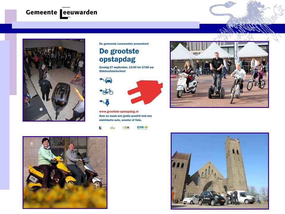 Duurzame mobiliteit in Leeuwarden, hoofdstad van Fryslân Ferd Crone 4 december 2009