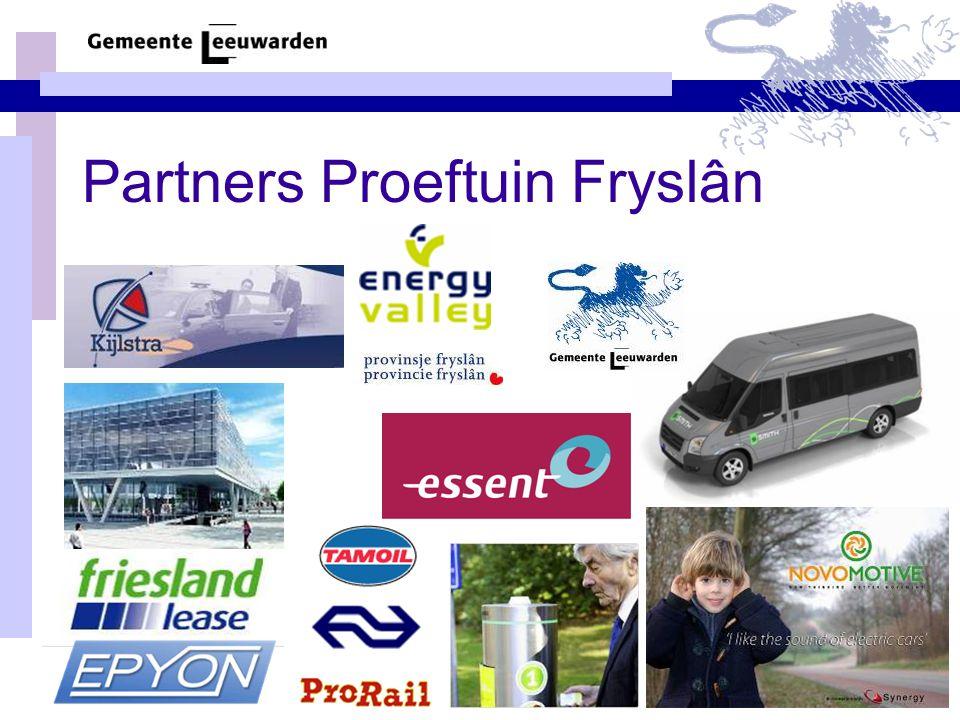 Partners Proeftuin Fryslân