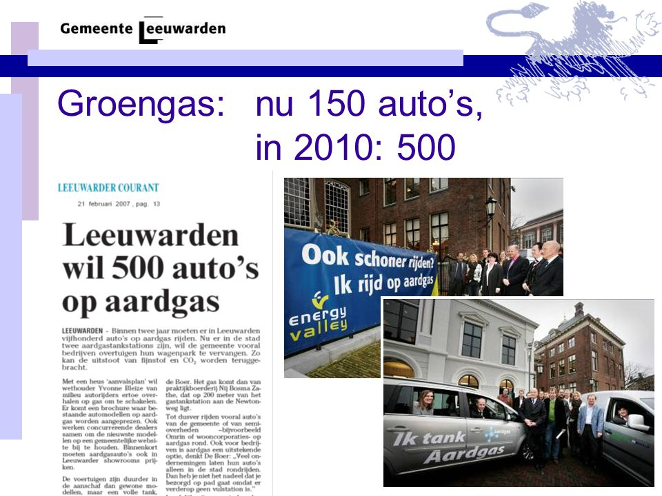 7 biogasbussen tussen Drachten en Leeuwarden