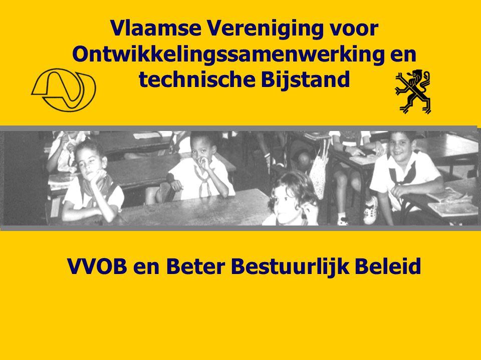 Vlaamse Vereniging voor Ontwikkelingssamenwerking en technische Bijstand VVOB en Beter Bestuurlijk Beleid