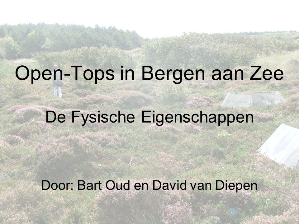 Open-Tops in Bergen aan Zee De Fysische Eigenschappen Door: Bart Oud en David van Diepen