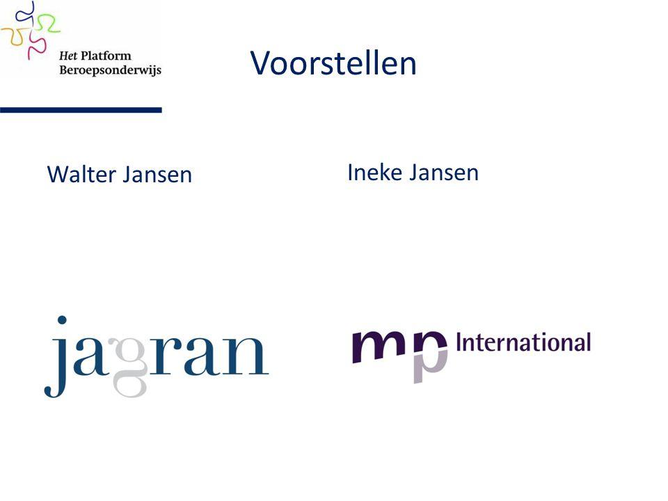 Ineke Jansen Voorstellen Walter Jansen