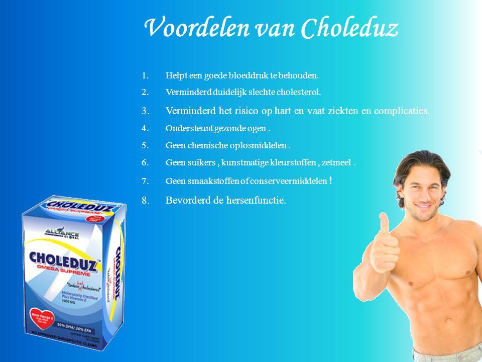 Voordelen van Choleduz 1.Helpt een goede bloeddruk te behouden.