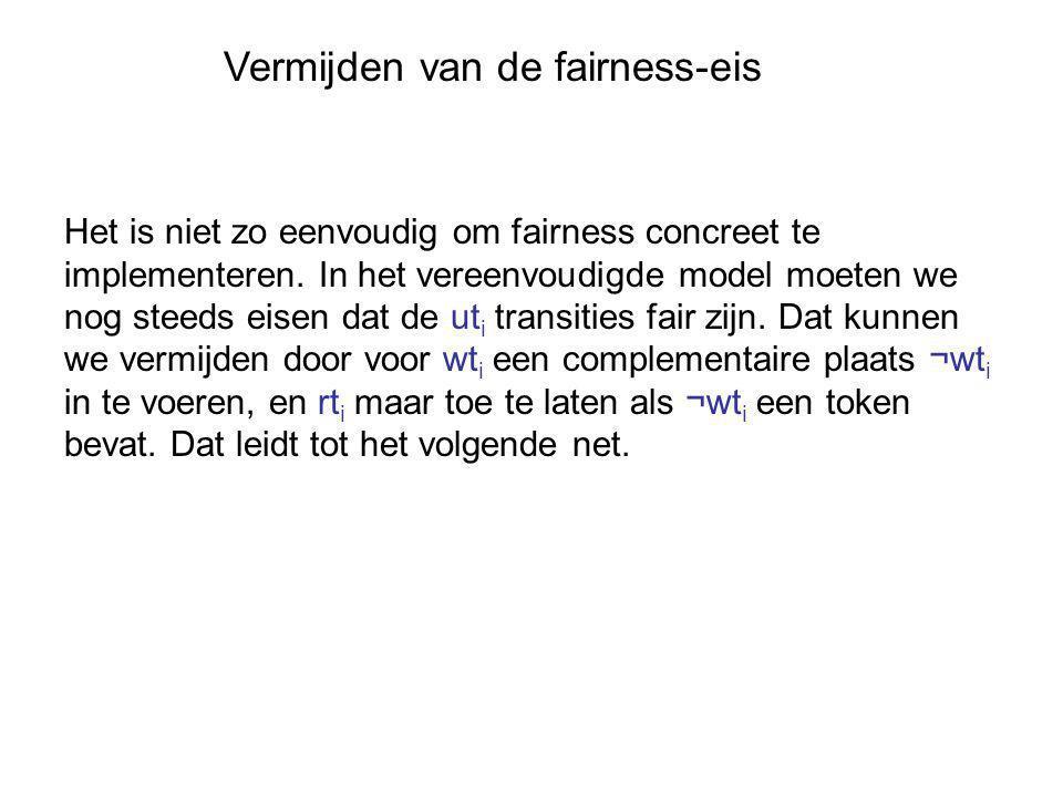 Vermijden van de fairness-eis Het is niet zo eenvoudig om fairness concreet te implementeren.