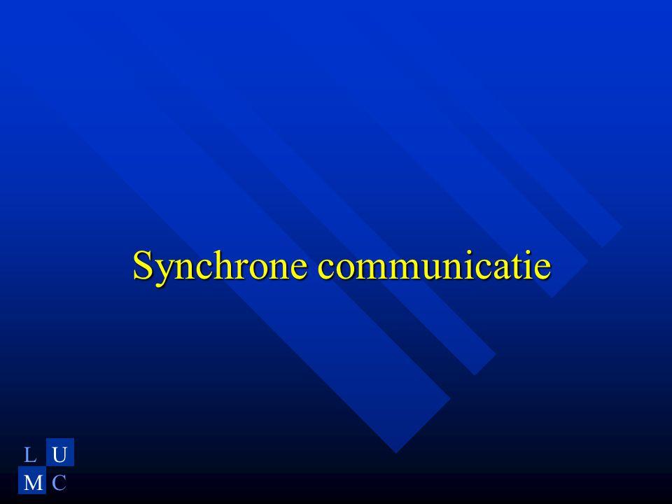 LU MC Synchrone communicatie