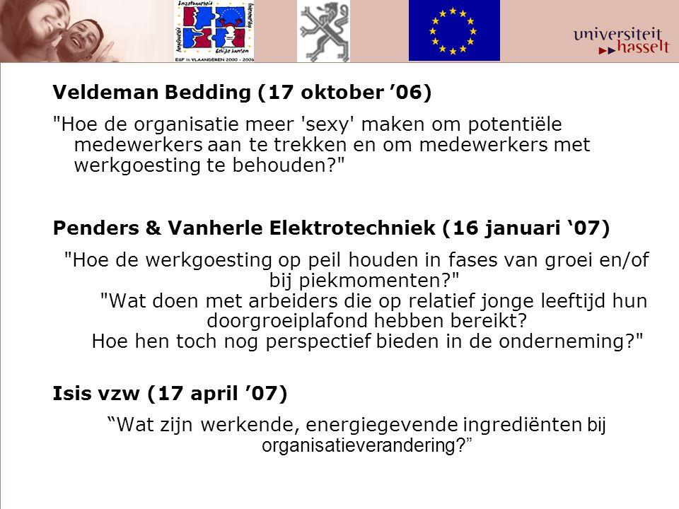 Veldeman Bedding (17 oktober '06)