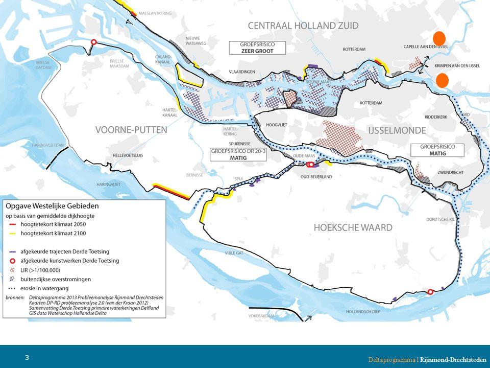 •Het westen is goed beschermd met Maeslantkering en hoge dijken.