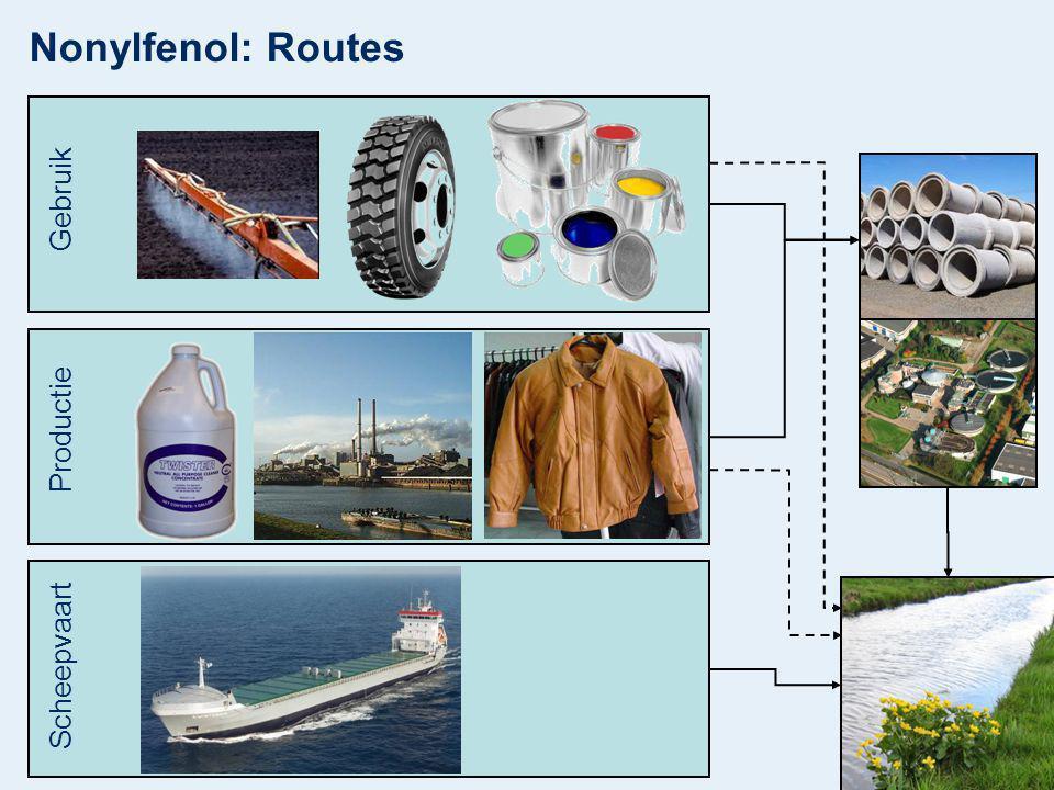 Nonylfenol: Routes Gebruik Productie Scheepvaart