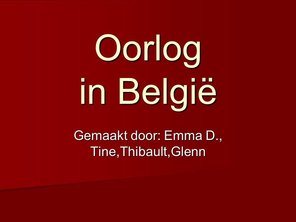 Inhoud BBBBelgië bezet in de oorlog DDDDe bevrijding van België WWWWat er veranderde voor de mensen.