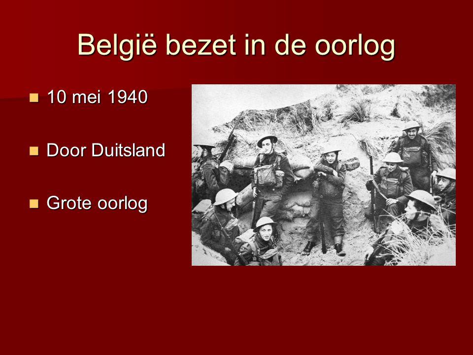 Bevrijding België  1 oktober 1944  Door Canadezen, Polen, Britten, Amerikanen