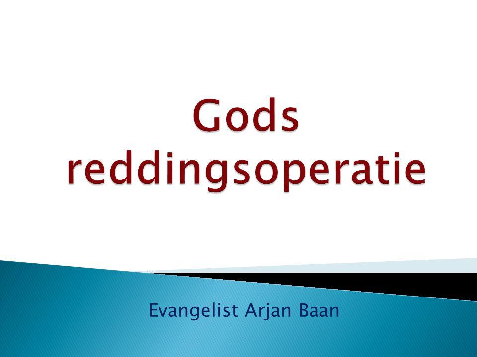 Evangelist Arjan Baan