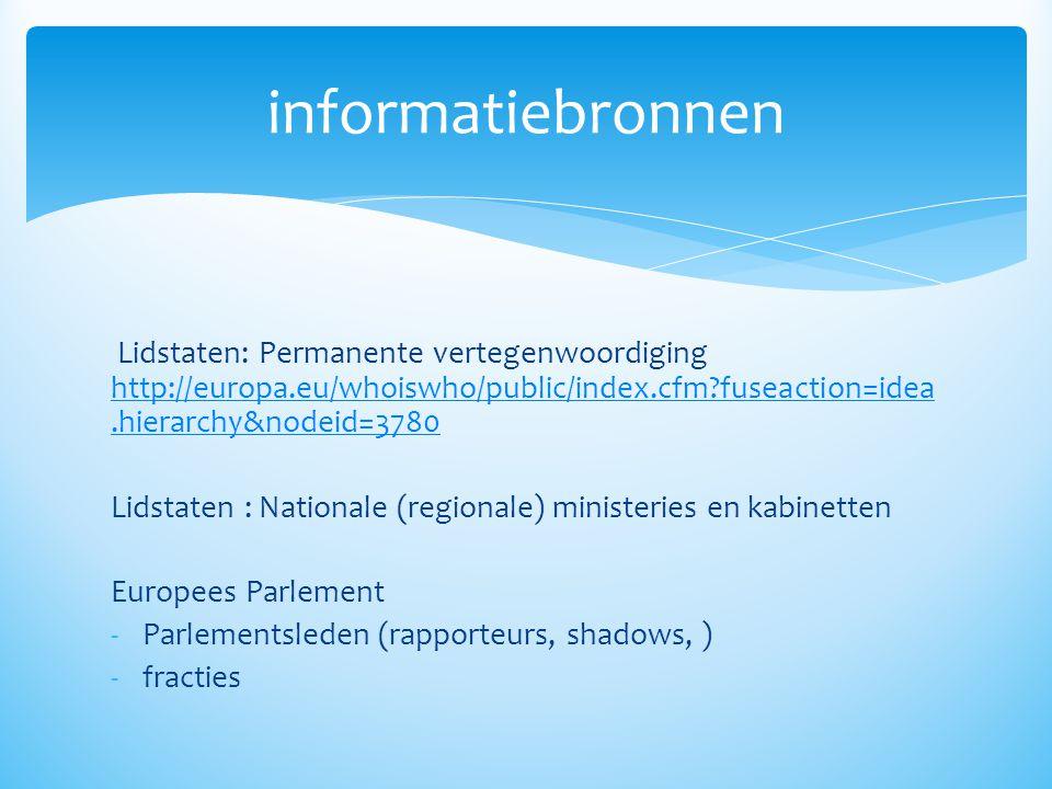 Lidstaten: Permanente vertegenwoordiging http://europa.eu/whoiswho/public/index.cfm?fuseaction=idea.hierarchy&nodeid=3780 http://europa.eu/whoiswho/pu