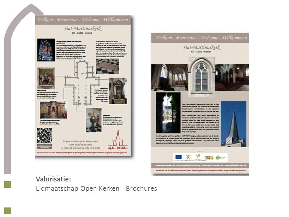 Valorisatie: Lidmaatschap Open Kerken - Brochures
