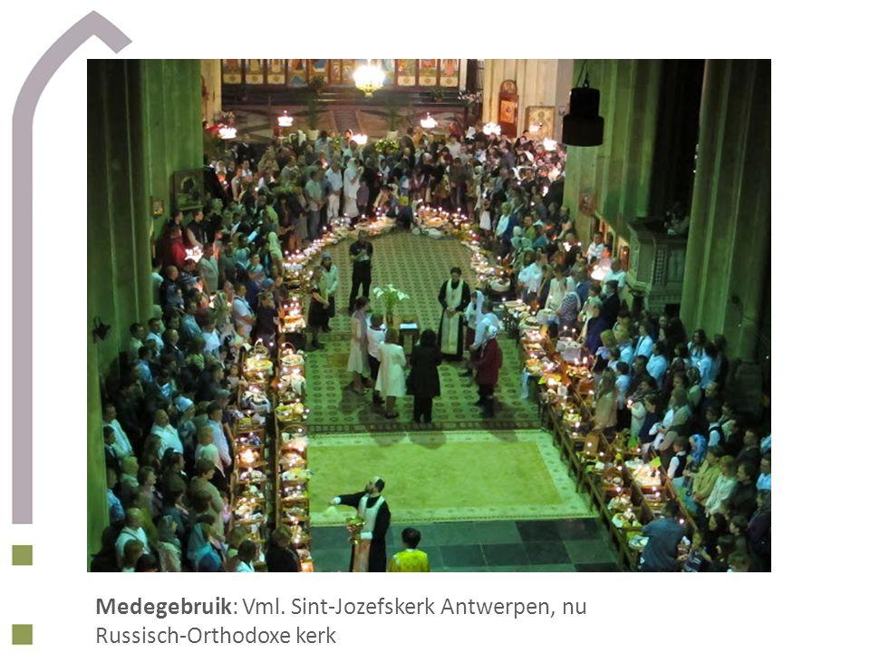 Medegebruik: Vml. Sint-Jozefskerk Antwerpen, nu Russisch-Orthodoxe kerk