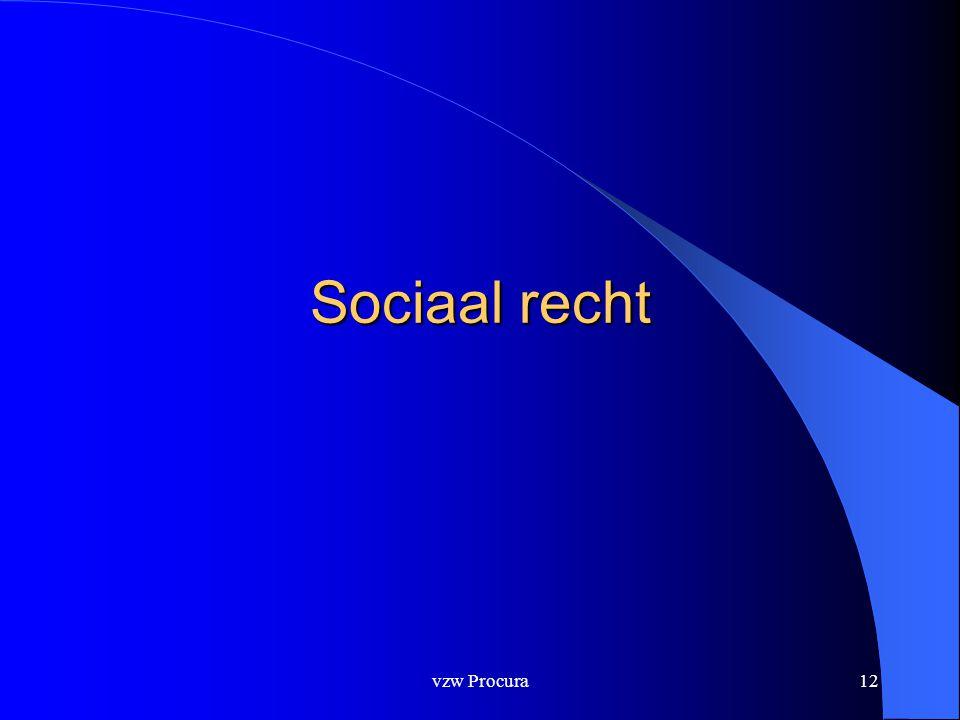 vzw Procura12 Sociaal recht
