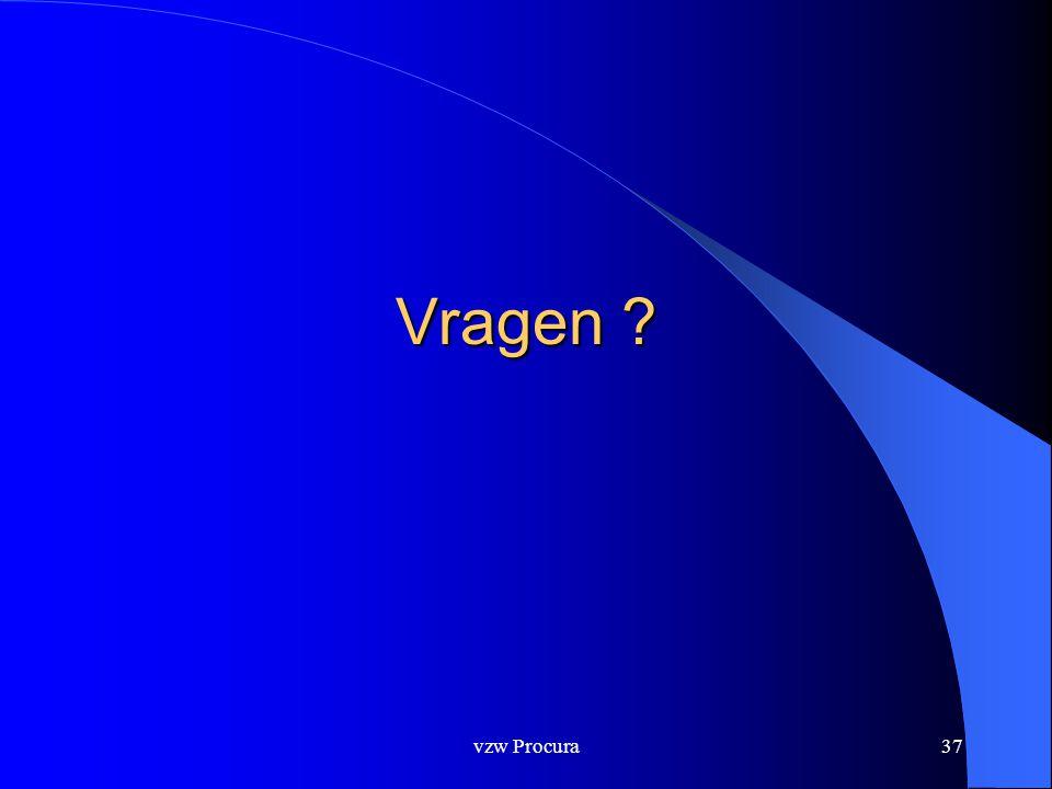 vzw Procura37 Vragen ?