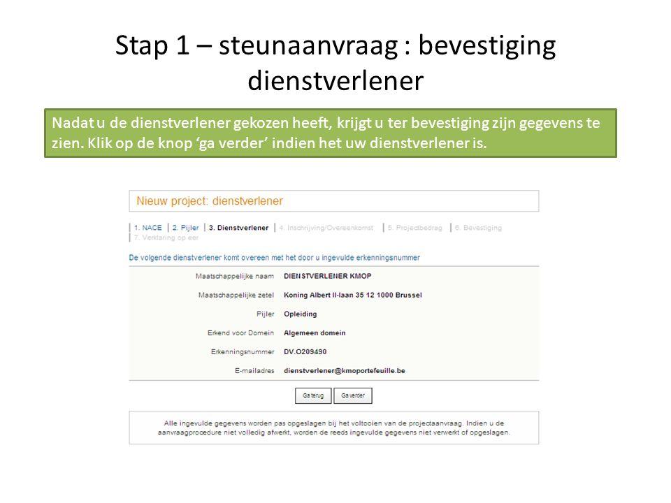 Stap 3 – betaling Vul het betaalformulier in.