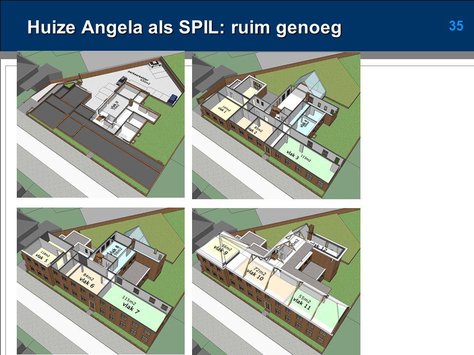 35 Huize Angela als SPIL: ruim genoeg
