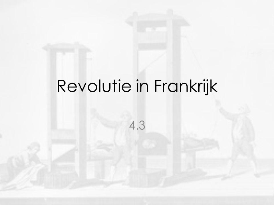 Revolutie in Frankrijk 4.3