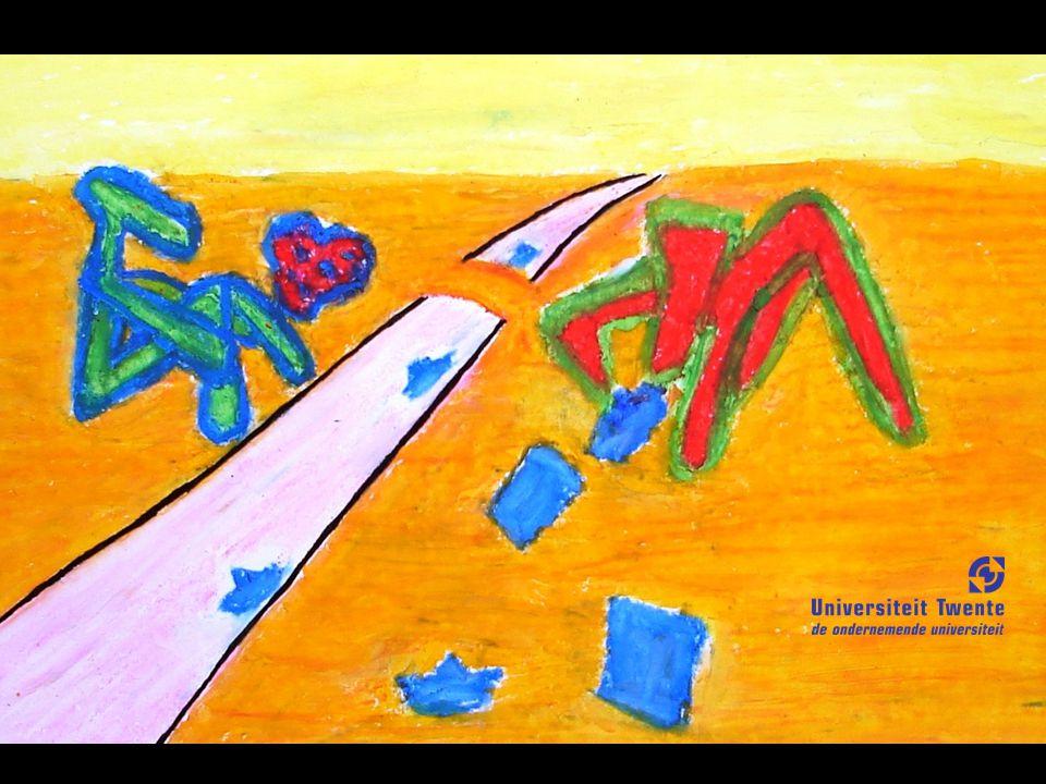 Theorie wordt gebruikt voor onderzoek in de abstracte werkelijkheid.