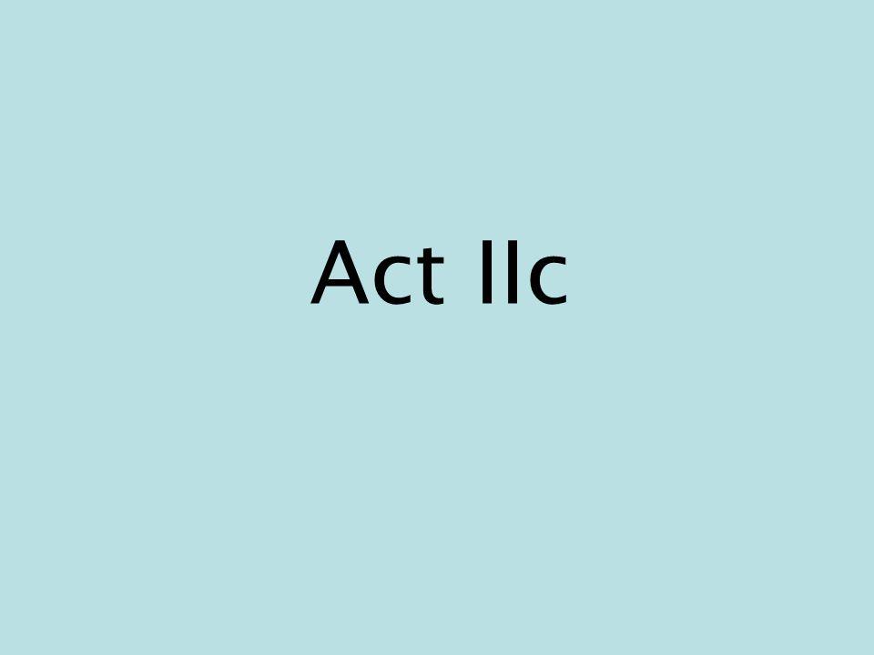 Act IIc