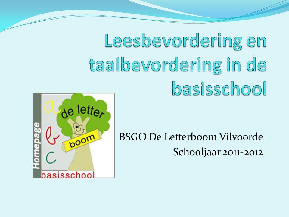 BSGO De Letterboom Vilvoorde Schooljaar 2011-2012