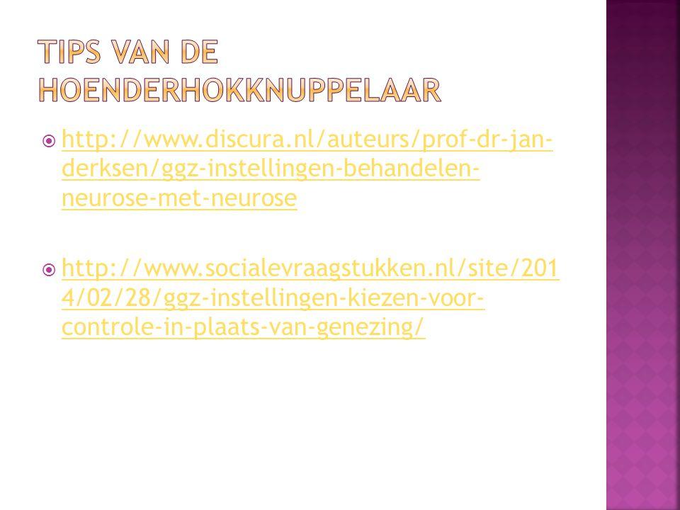  http://www.discura.nl/auteurs/prof-dr-jan- derksen/ggz-instellingen-behandelen- neurose-met-neurose http://www.discura.nl/auteurs/prof-dr-jan- derks