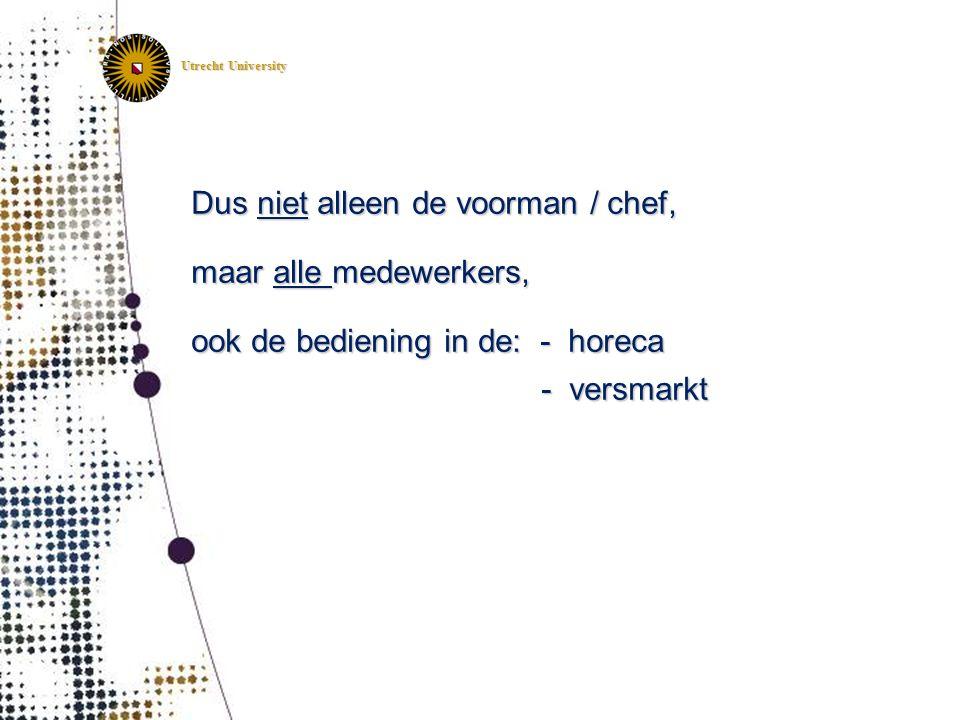 IRAS Institute for Risk Assessment Sciences Utrecht, The Netherlands IRAS Institute for Risk Assessment Sciences Utrecht, The Netherlands Utrecht Univ