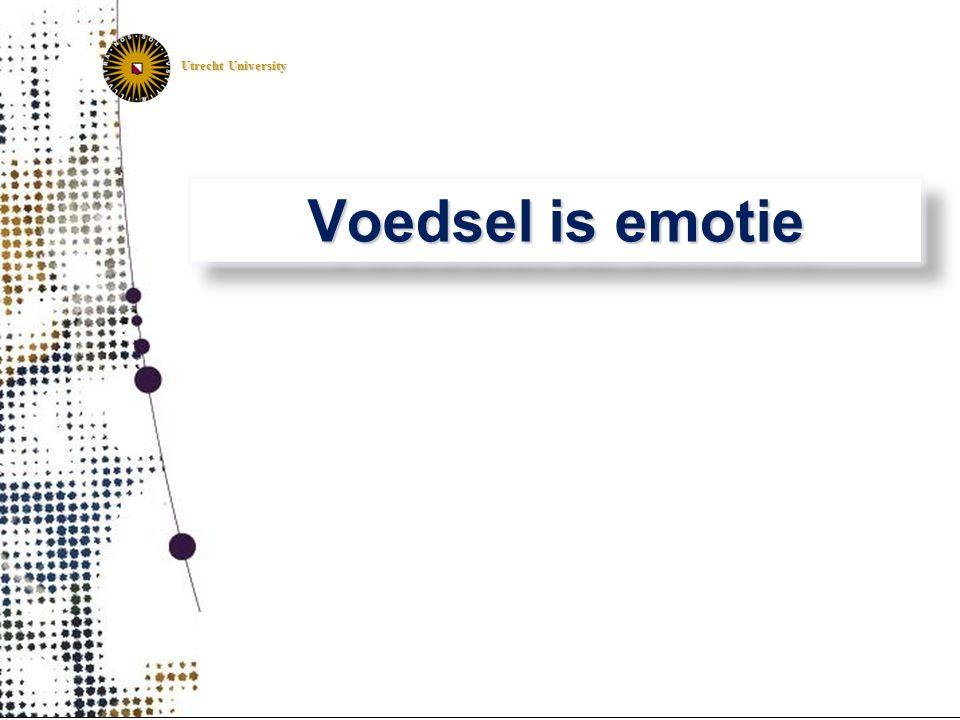 Utrecht University Voedsel is emotie