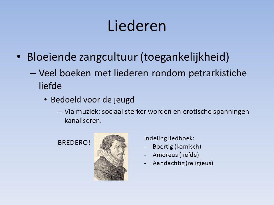 Toneel Ernstig toneel : -Vijf bedrijven -Hooggeplaatst persoon -Verheven taalgebruik -Onderwerp ontleend aan Oudheid -Eenheid van tijd, plaats en handeling.
