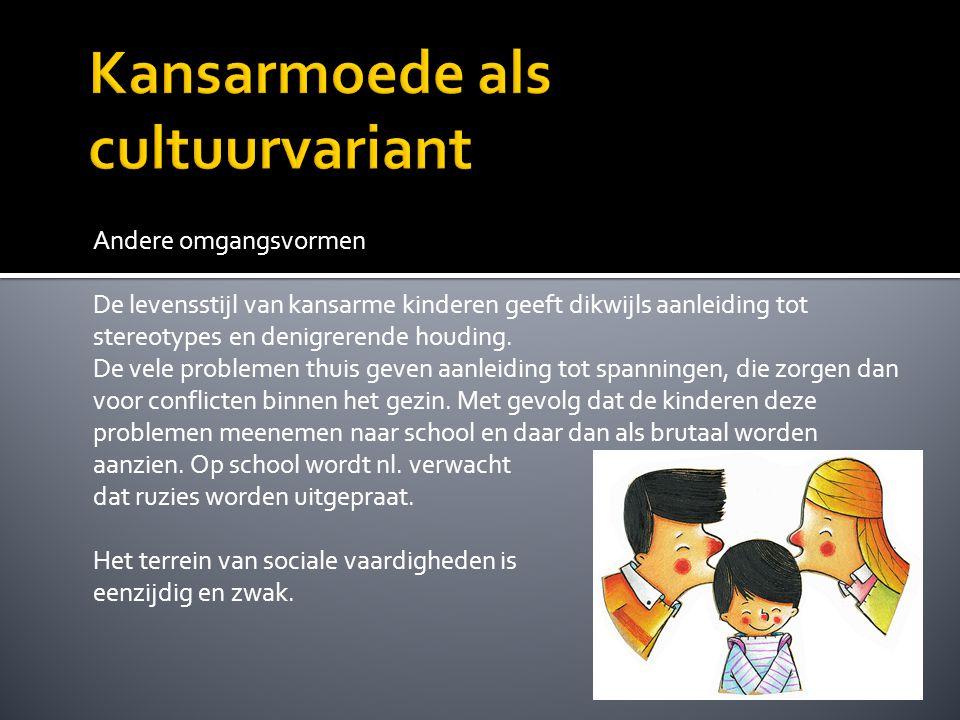 Ander consumptiegedrag Om er bij te horen, kopen kansarme gezinnen vaak het nieuwste van het nieuwste.