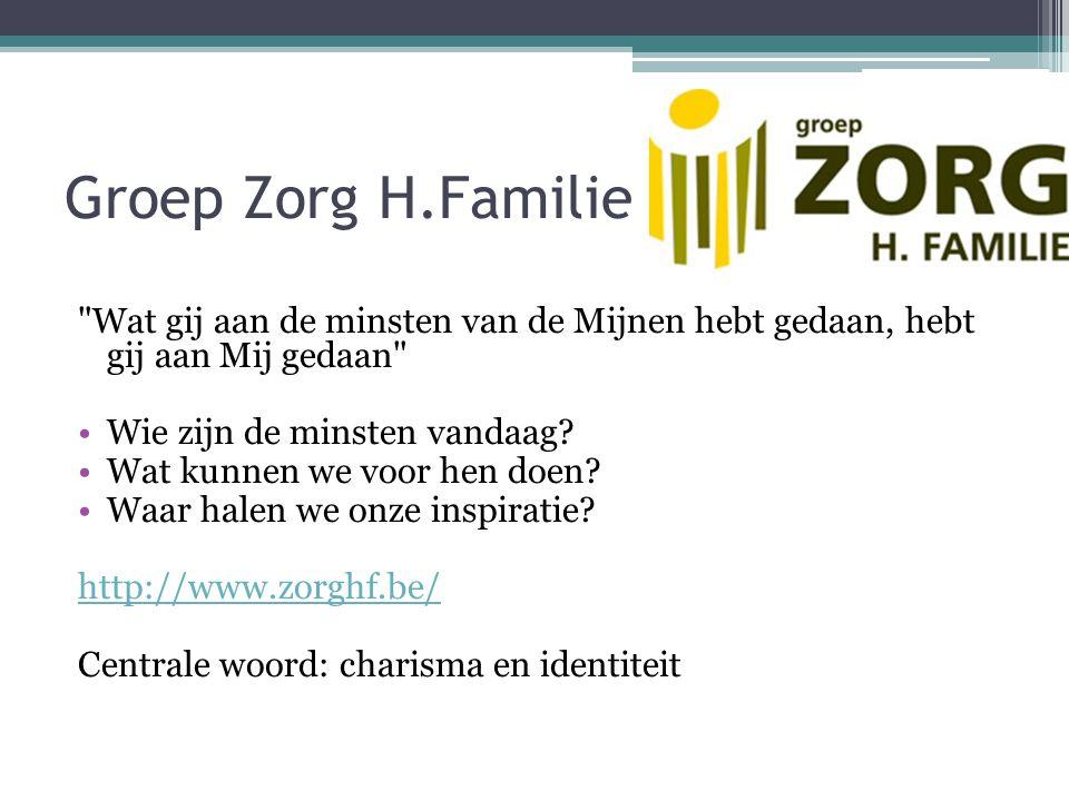 Groep Zorg H.Familie