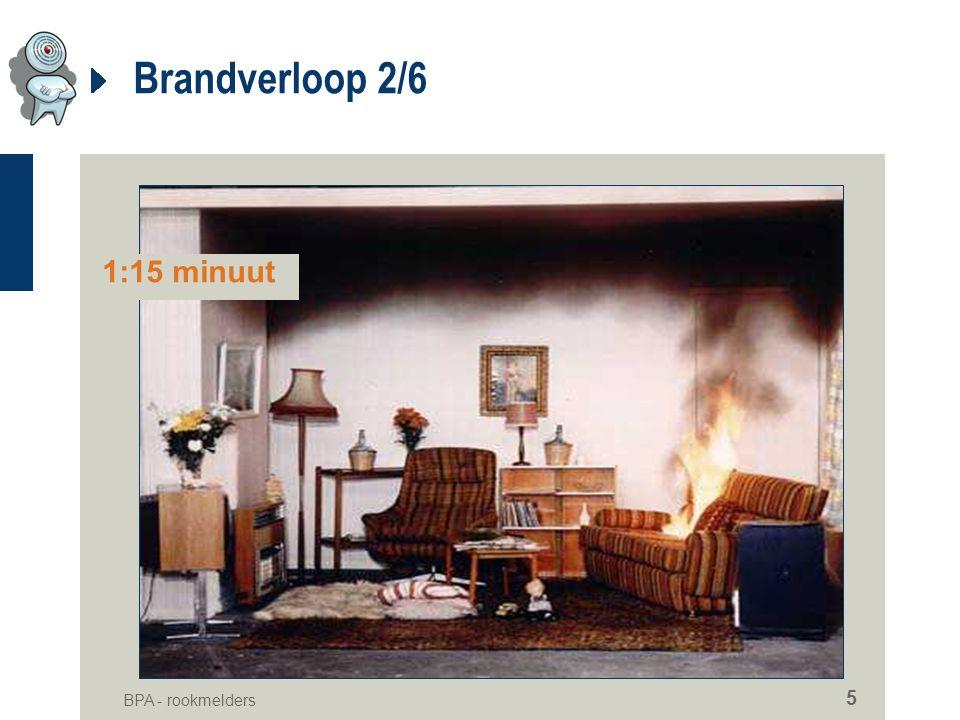 BPA - rookmelders 5 Brandverloop 2/6 1:15 minuut