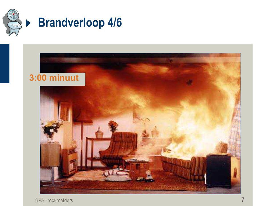 BPA - rookmelders 7 Brandverloop 4/6 3:00 minuut