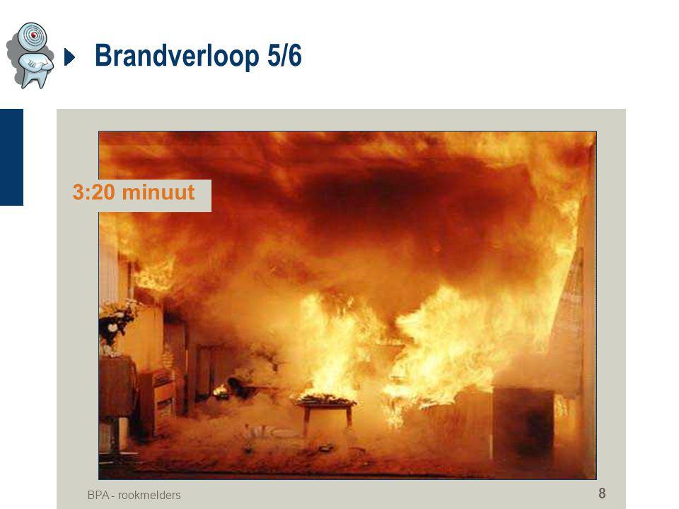 BPA - rookmelders 8 Brandverloop 5/6 3:20 minuut