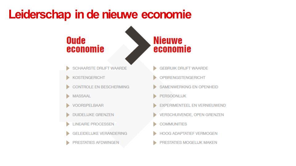 Leiderschap in de nieuwe economie