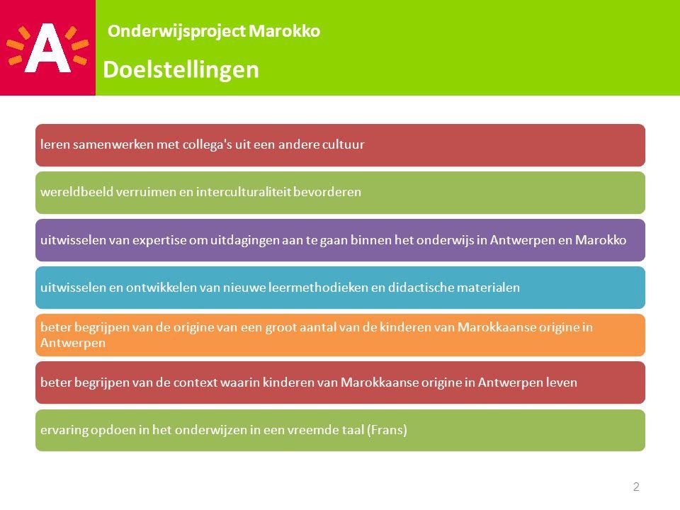 Scholen 3 Onderwijsproject Marokko Ecole Primaire à Kebdana/Bni Kitoune: •Jill •Noeska •  Les van 9 tot 13u •Themas's sport en spel.