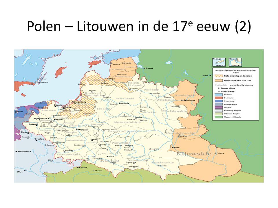 Polen – Litouwen in de 17 e eeuw (2)