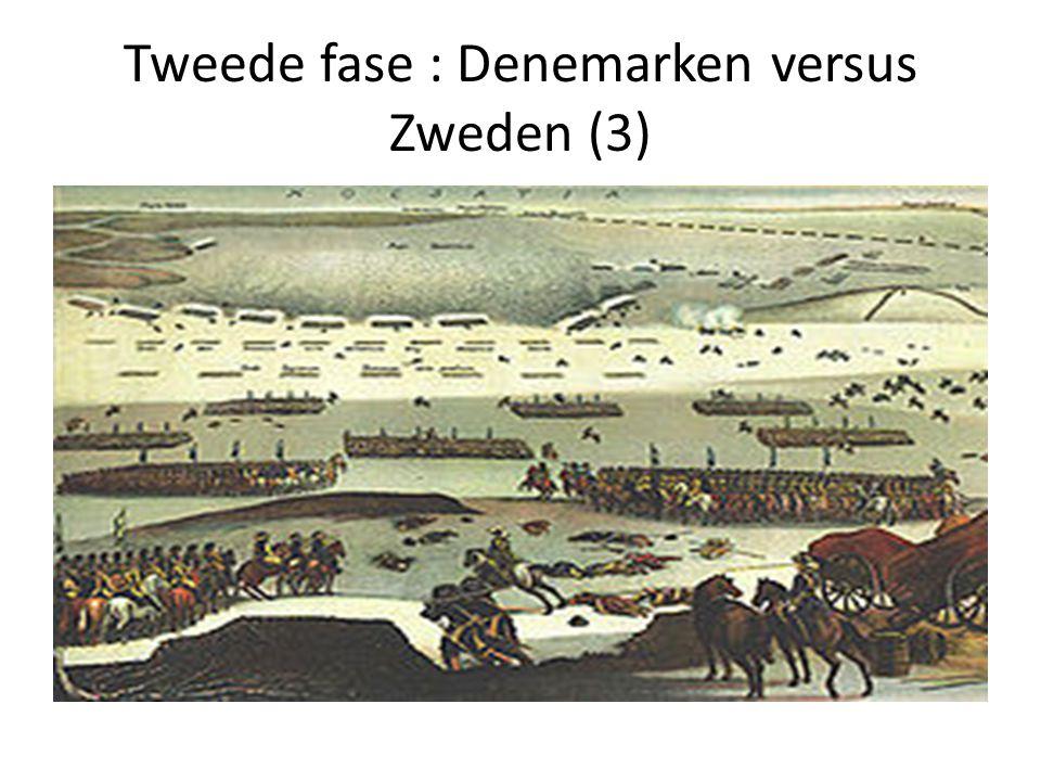 Tweede fase : Denemarken versus Zweden (3)