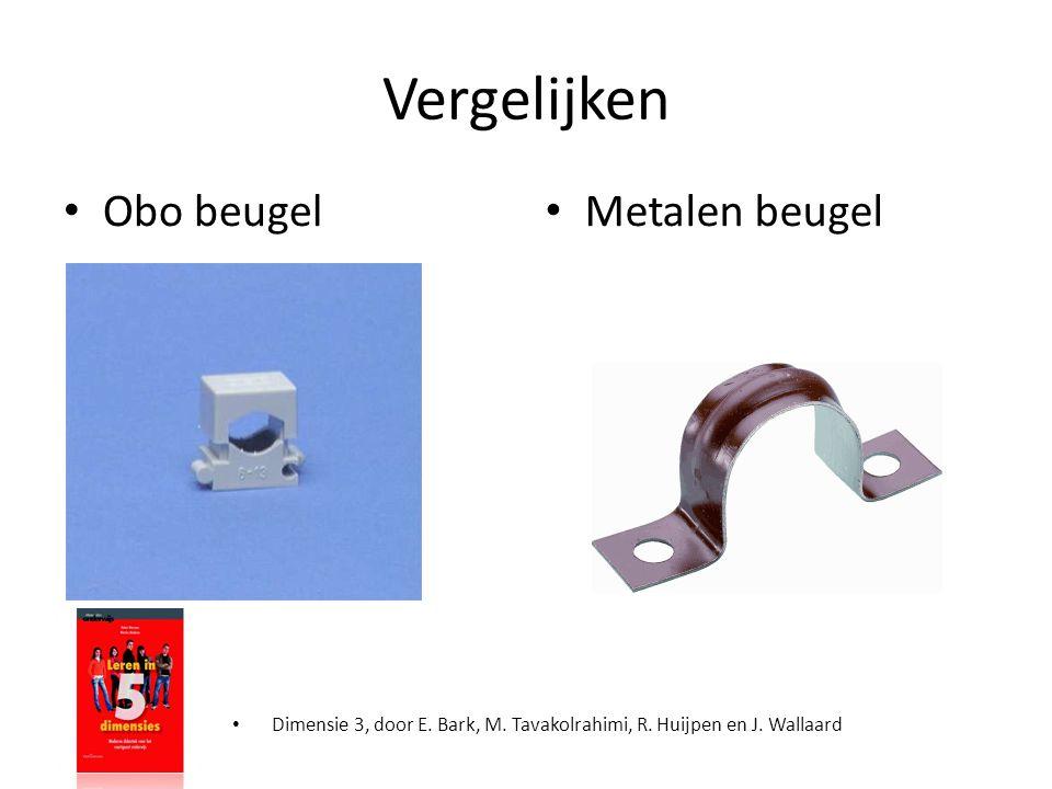 Vergelijken • Dimensie 3, door E. Bark, M. Tavakolrahimi, R. Huijpen en J. Wallaard • Obo beugel • Metalen beugel
