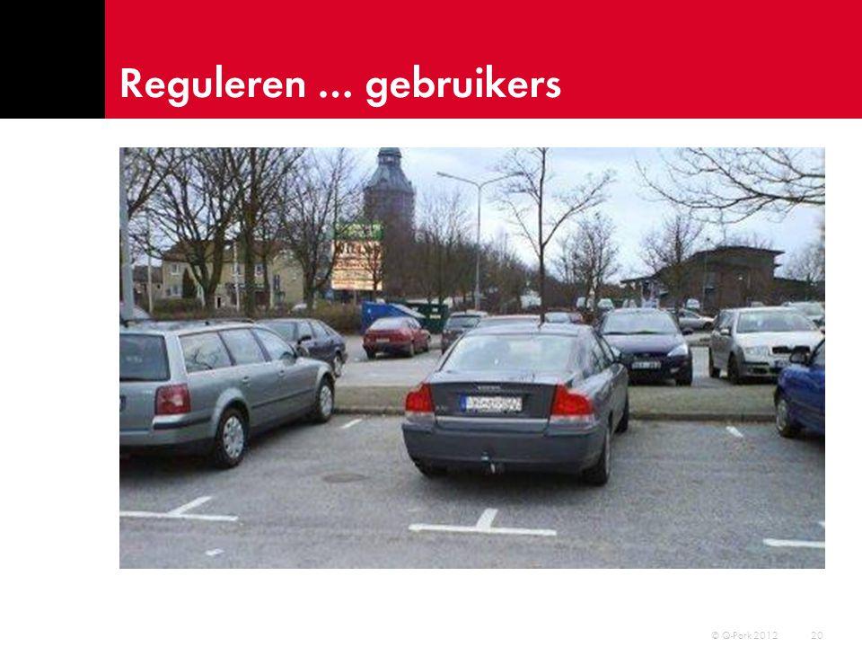 Parkeren … als voorportaal 21 © Q-Park 2012