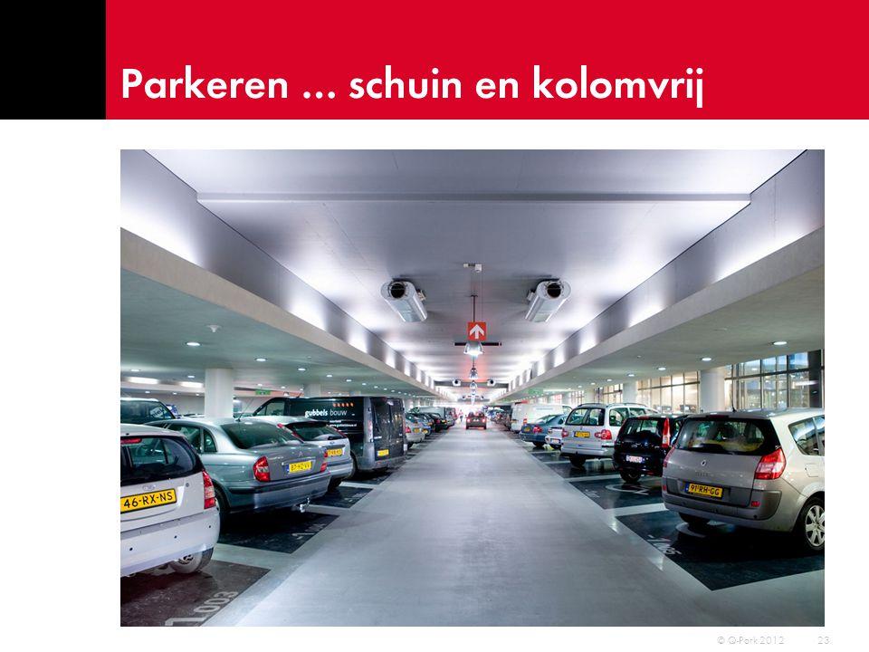 Parkeren … eenrichtingsverkeer 24 © Q-Park 2012
