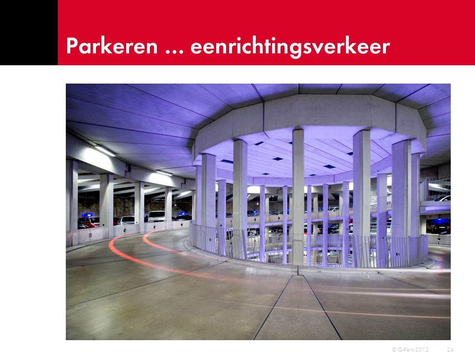 Parkeren … op de markt ? 25 © Q-Park 2012