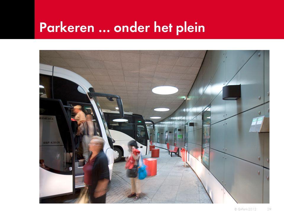 Q-Park dienstverlening 30 © Q-Park 2012