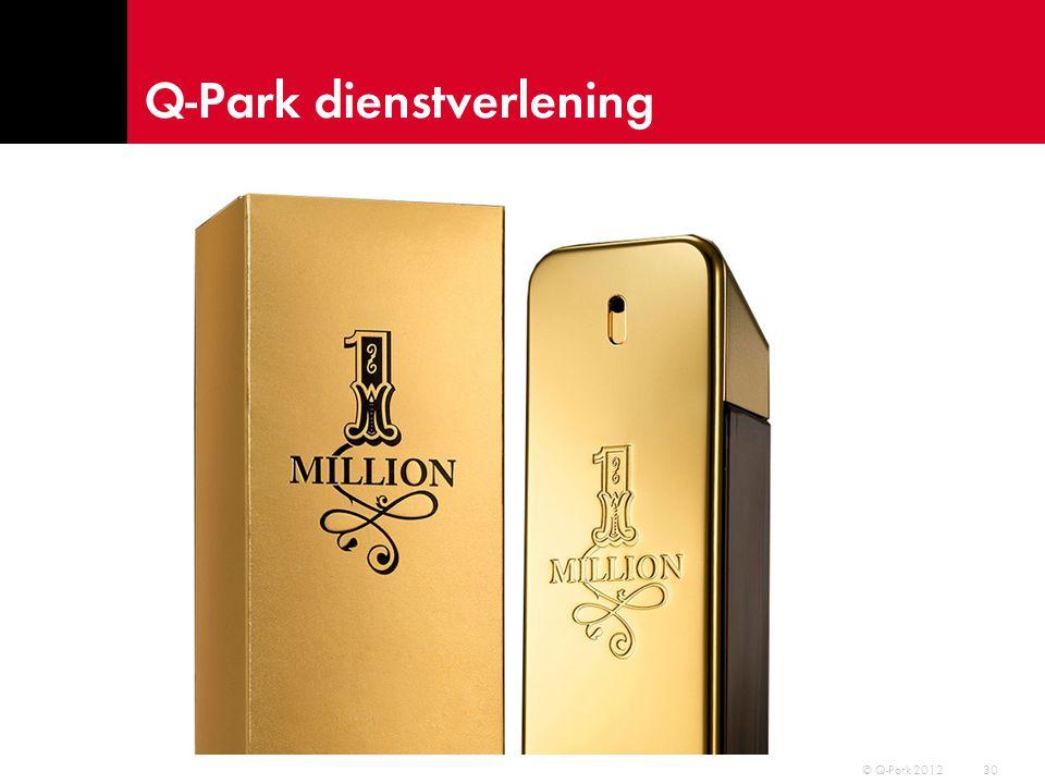 Q-Park operationeel resultaat 31 © Q-Park 2012 Omzet 2012: € 745,1 miljoen EBITDA 2012: € 183,7 miljoen