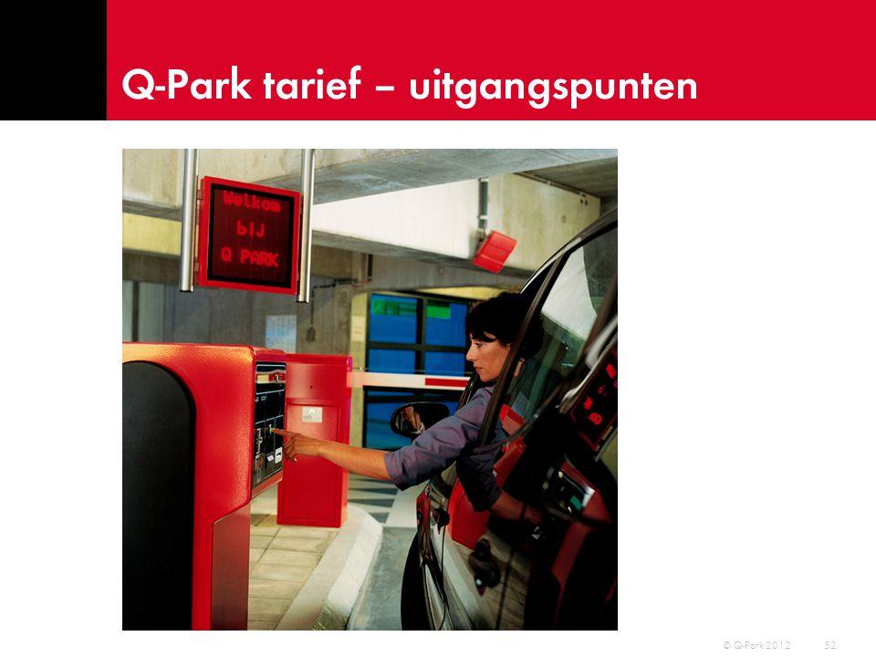 Gebruikers 53 © Q-Park 2012