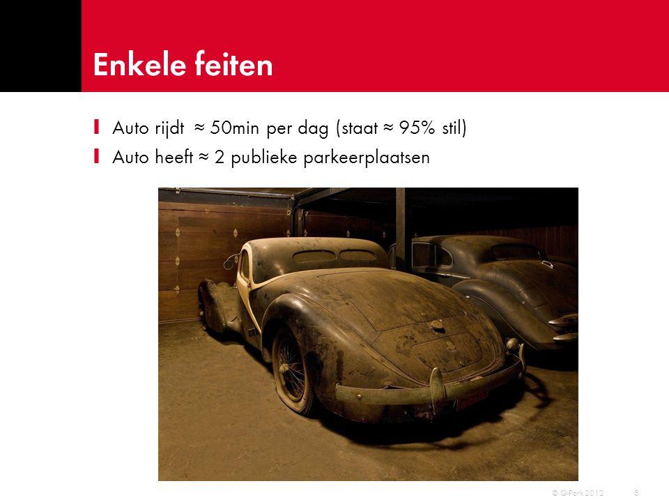 Parkeerbranche – gewaardeerd? © Q-Park 2012 9