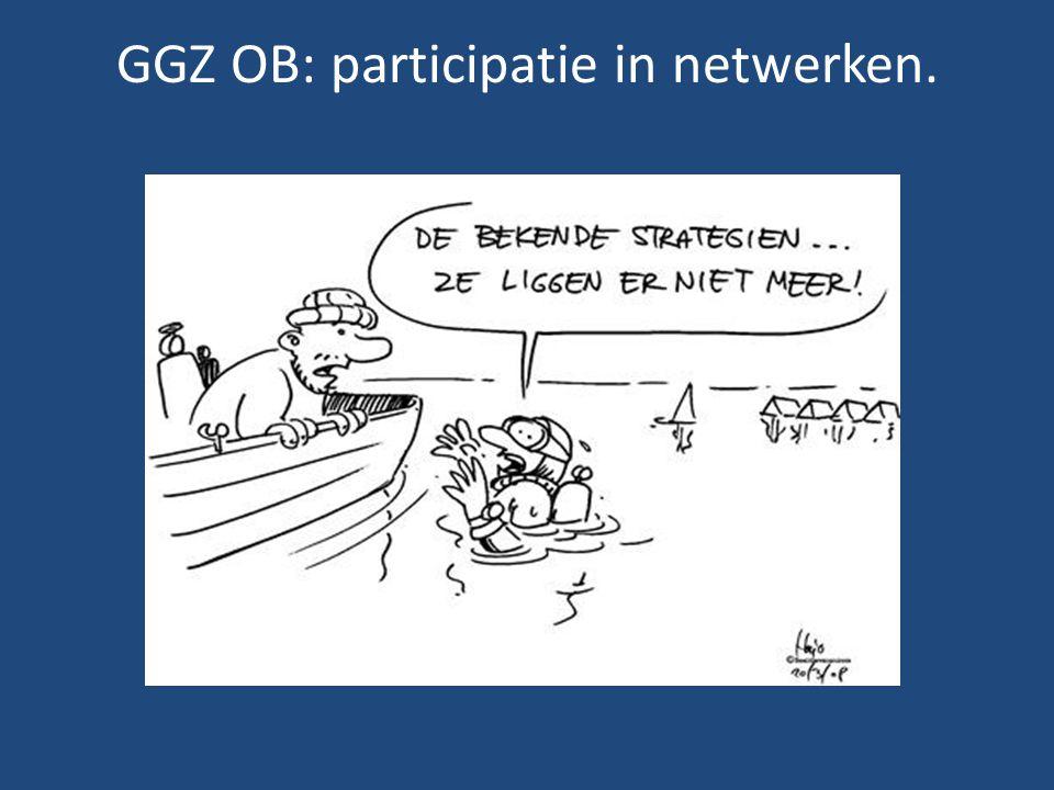 GGZ OB: participatie in netwerken.