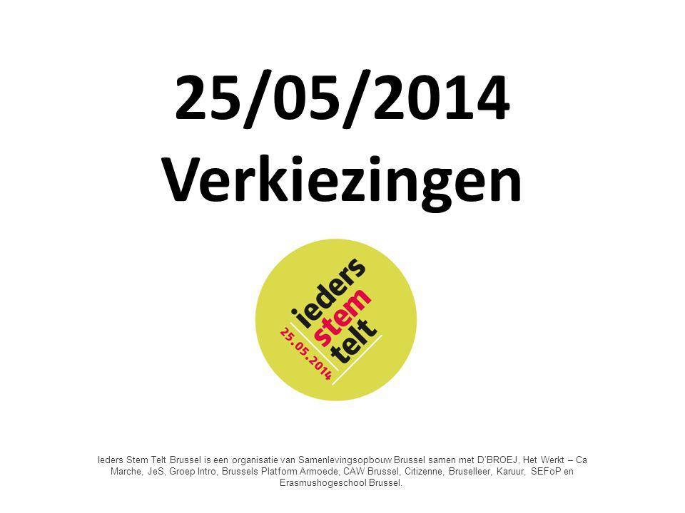 Wie mag stemmen? 1830: 1% Vandaag: 80% Ieders StemTelt 2014